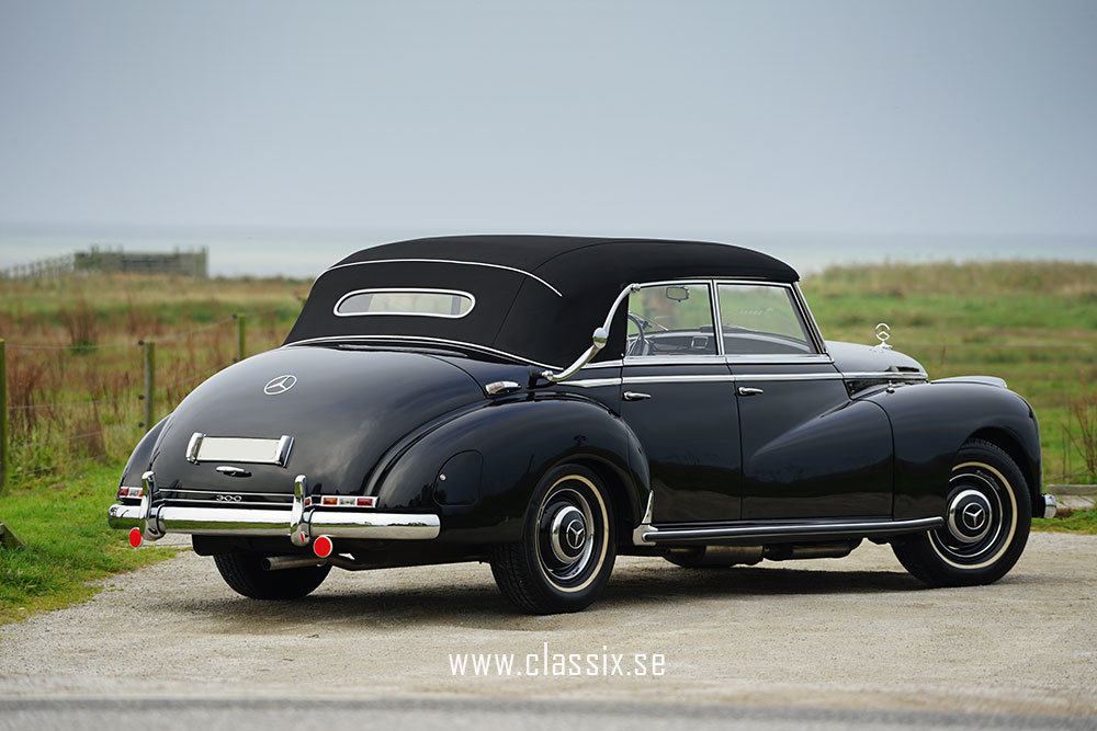 1954 Mercedes W186 300 Adenauer Cabriolet For Sale (picture 4 of 6)