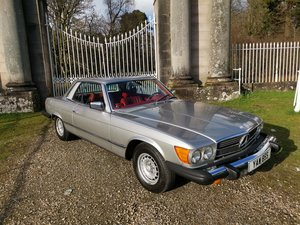 1978 Mercedes 450 SLC LHD