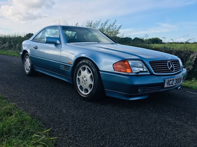1992 MERCEDES r129 300SL 24V ABSOLUTLEY STUNNING CAR  LOW MILEAGE For Sale (picture 1 of 6)