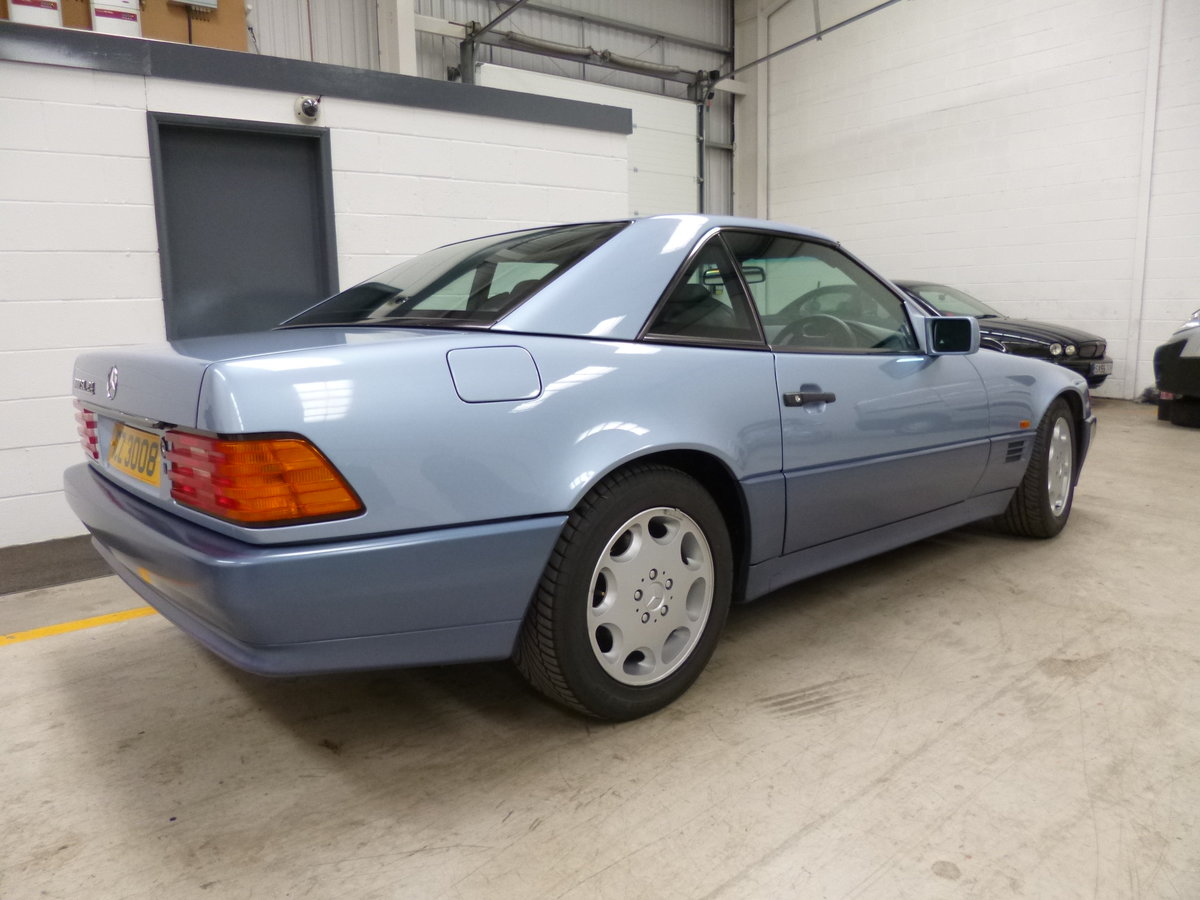 1992 MERCEDES r129 300SL 24V ABSOLUTLEY STUNNING CAR  LOW MILEAGE For Sale (picture 6 of 6)