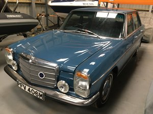 1974 Mercedes 230 auto saloon For Sale