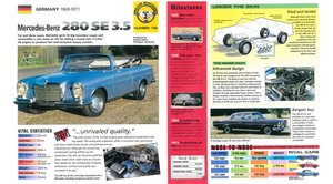 1971 Mercedes 280 SE 3.5 Cabriolet Convertible Clean Blue  For Sale