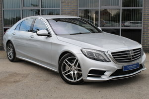 2013 63 MERCEDES BENZ 4.7 S CLASS S500L AMG LINE 7G TRONIC