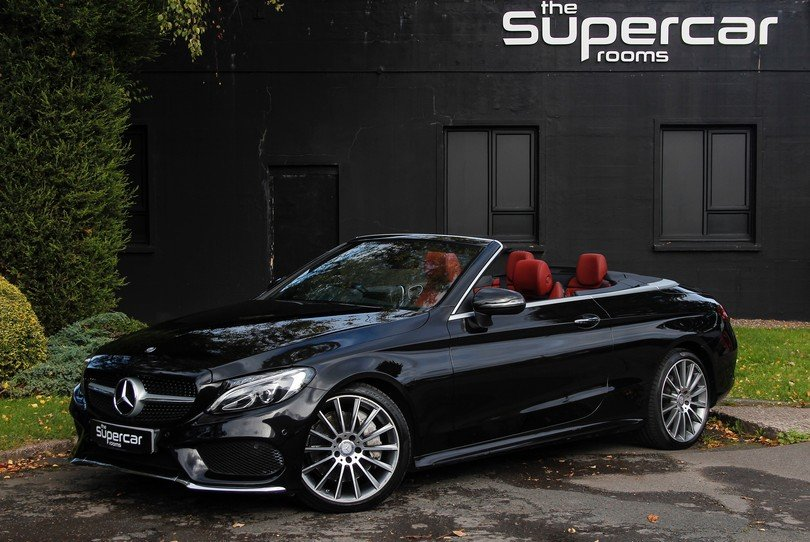 Mercedes Benz C250D Convertible AMG Line - 2017 - 15K Miles  For Sale (picture 1 of 6)