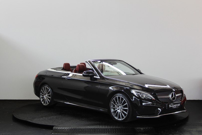 Mercedes Benz C250D Convertible AMG Line - 2017 - 15K Miles  For Sale (picture 2 of 6)