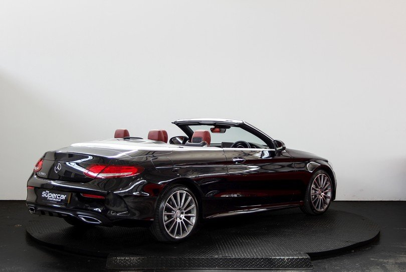 Mercedes Benz C250D Convertible AMG Line - 2017 - 15K Miles  For Sale (picture 3 of 6)