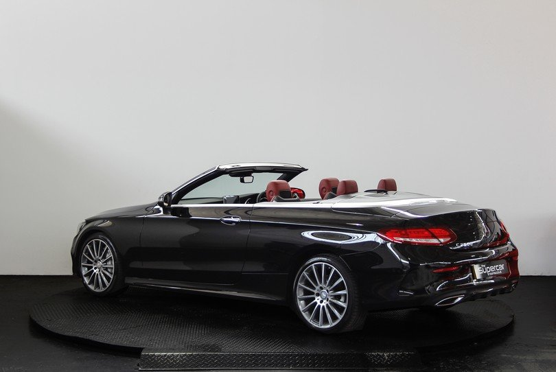 Mercedes Benz C250D Convertible AMG Line - 2017 - 15K Miles  For Sale (picture 4 of 6)