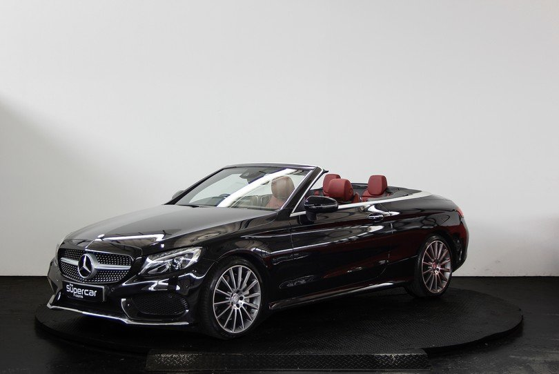 Mercedes Benz C250D Convertible AMG Line - 2017 - 15K Miles  For Sale (picture 5 of 6)