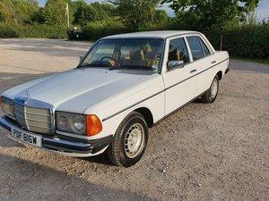 1981 Mercedes w123 restored 92.000 miles mot 08.2020