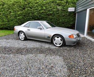1990 Mercedes 500SL, only 29k Miles, uk car For Sale