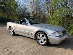 2000  MERCEDES-BENZ SL 5.0 SL500 2D AUTO 315 BHP (R129) FACELIFT  For Sale