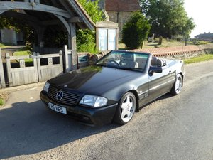 1992 Mercedes SL 300 AMG lowering kit and wheels