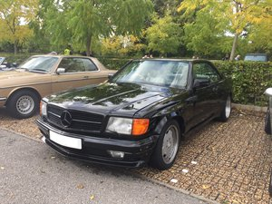 1985 Mercedes 500SEC AMG Widebody - W126 For Sale