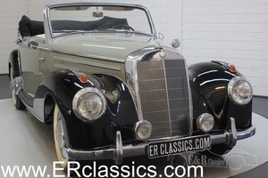 Mercedes-Benz 220A cabriolet 1952 Body off restored