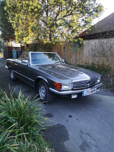 Mercedes 350 SL 1972 purchased in 1989