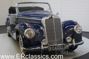 Mercedes-Benz 220A cabriolet 1952 body off restored.