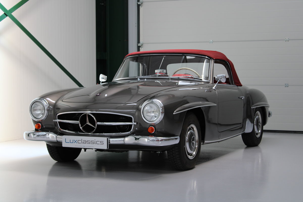 1958 Mercedes 190SL 190 SL Restored LHD For Sale (picture 1 of 6)