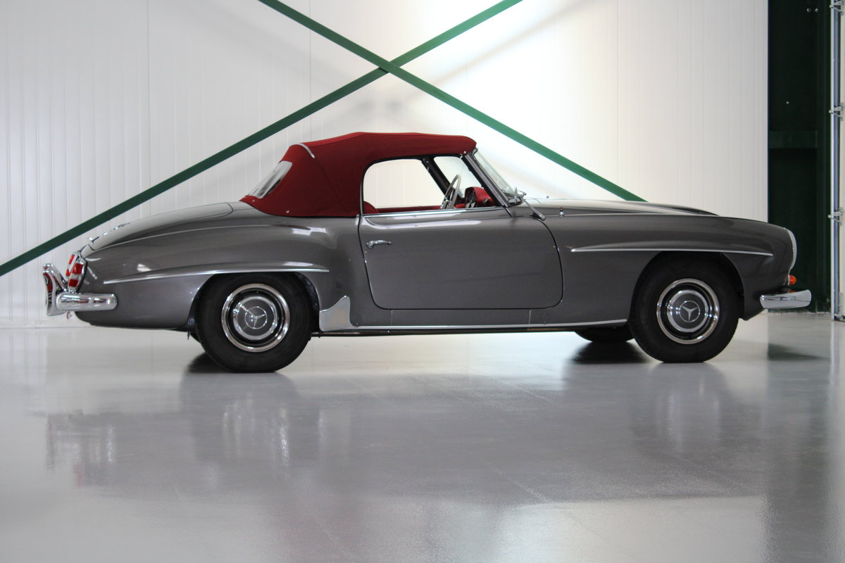 1958 Mercedes 190SL 190 SL Restored LHD For Sale (picture 2 of 6)