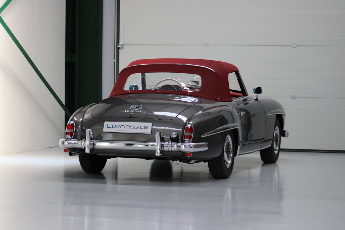 1958 Mercedes 190SL 190 SL Restored LHD For Sale (picture 3 of 6)