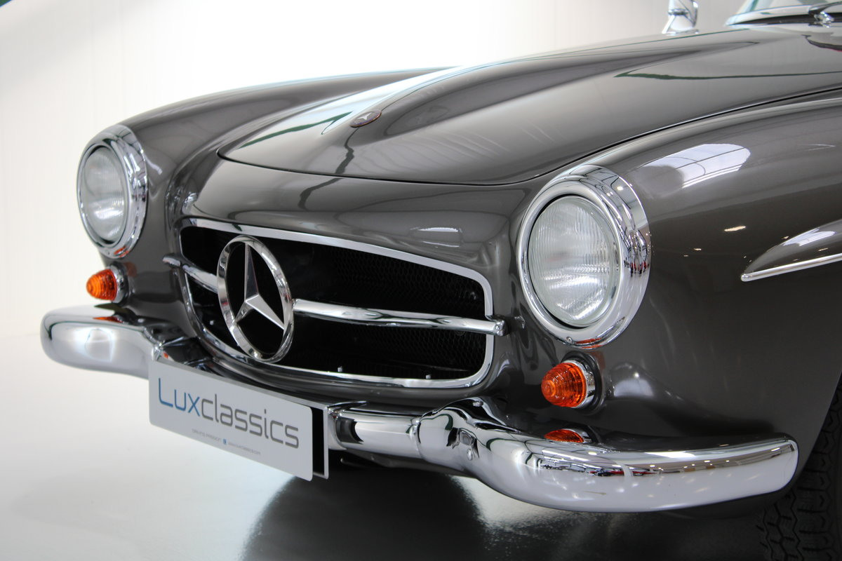 1958 Mercedes 190SL 190 SL Restored LHD For Sale (picture 5 of 6)