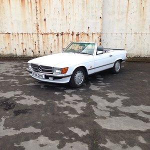 1989 Mercedes-Benz R107 420 SL AUTO For Sale by Auction
