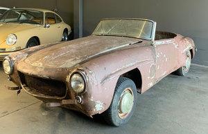 1960 Mercedes 190 SL Convertible Roadster Project  $39.5k