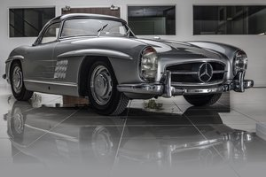 1957 Mercedes-Benz 300 SL Roadster in Silver by Hemmels For Sale