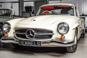 1963 Mercedes-Benz 190 SL Roadster in Cream by Hemmels