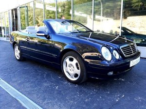2001 Mercedes Benz CLK430 Cabrio Brand new car 23.000Km with FSR For Sale