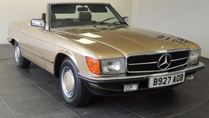 1984 Mercedes-benz 280sl automatic convertible  For Sale