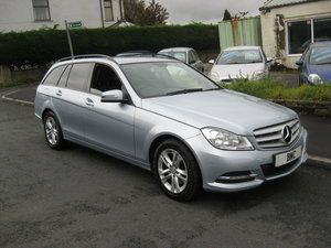 2012 62-reg Mercedes Benz C220 CDI Executive SE Auto Estate