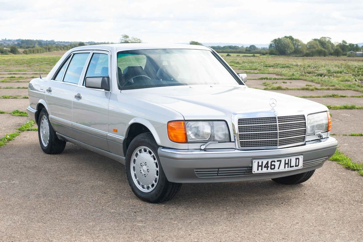 1991 Mercedes W126 420sel 40k Miles From New Superb Sold Car And Classic