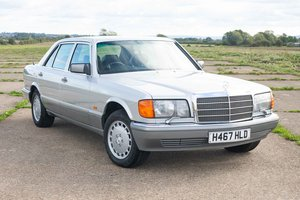 1991 Mercedes W126 420SEL - 40k Miles From New - Superb For Sale