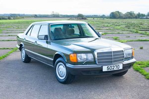 1982 Mercedes W126 380SEL - 2 Owners - 58k - Exceptional For Sale
