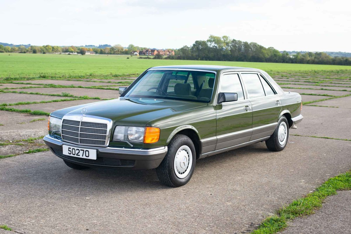 1982 Mercedes W126 380SEL - 2 Owners - 58k - Exceptional SOLD (picture 2 of 6)