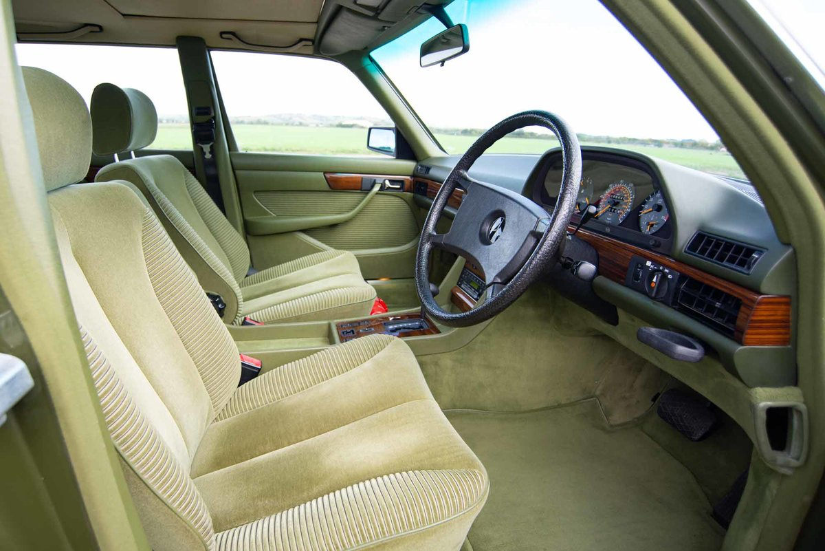 1982 Mercedes W126 380SEL - 2 Owners - 58k - Exceptional SOLD (picture 5 of 6)