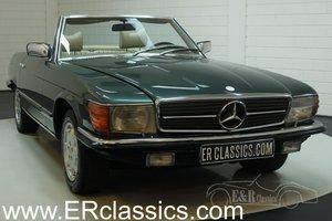 Mercedes Benz 350SL 1979 R107 Green Metallic For Sale