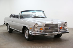 1970 Mercedes-Benz 280SE Low Grille Cabriolet For Sale