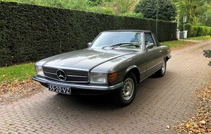 1973 SL Dutch delivery 195K km hardtop restorerd For Sale