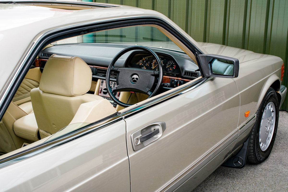 1989 Mercedes-Benz 560SEC (C126) #2116 cost £169,874 new! For Sale (picture 2 of 6)