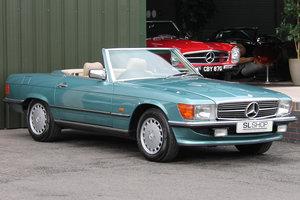 1986 Mercedes-Benz 420SL (R107) #2172 ex DJ Greg James car