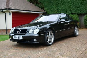 2005 Mercedes CL500 with low mileage and full MBSH For Sale