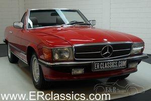 Mercedes Benz 380SL Cabriolet 1985 European car