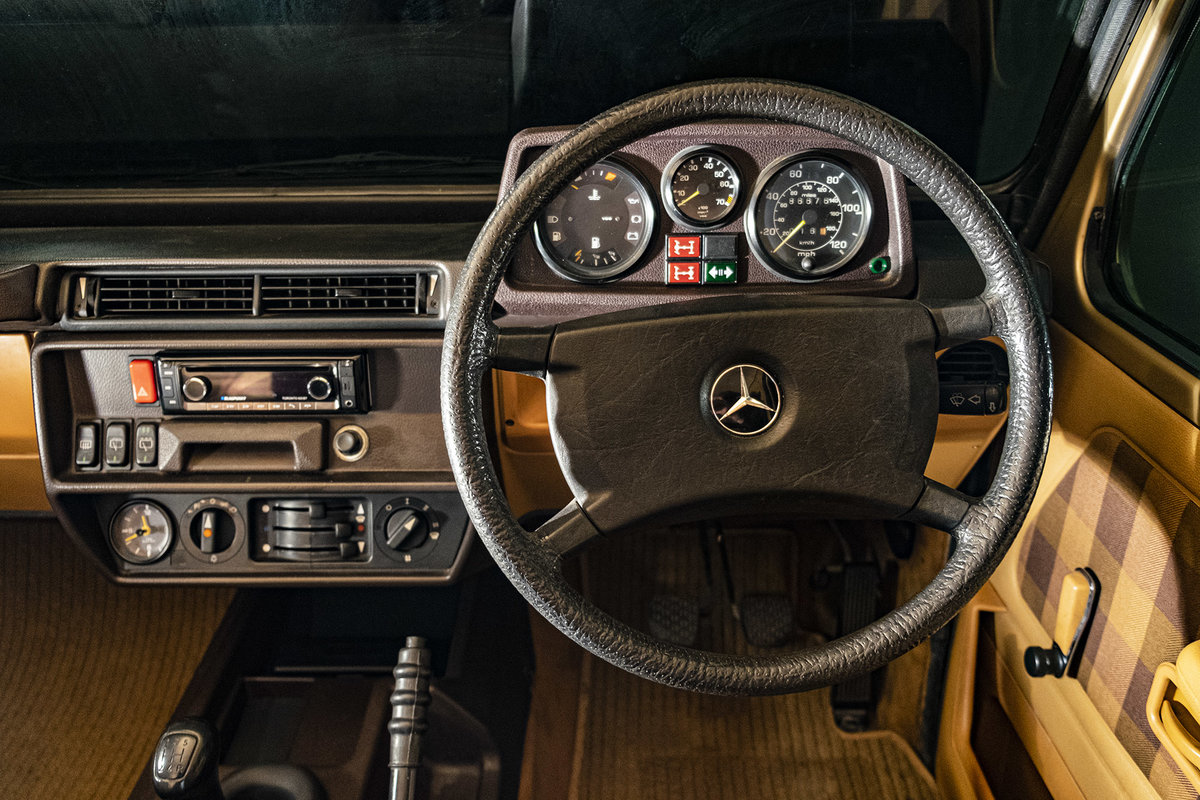 1987 Mercedes G Wagon 280GE W460 SWB  SOLD (picture 2 of 6)
