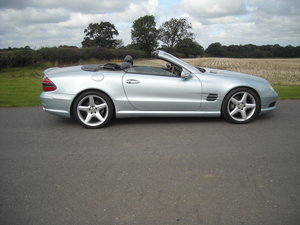 2002 MERCEDES 500SL V8 A LOT OF CAR FOR LITTLE MONEY