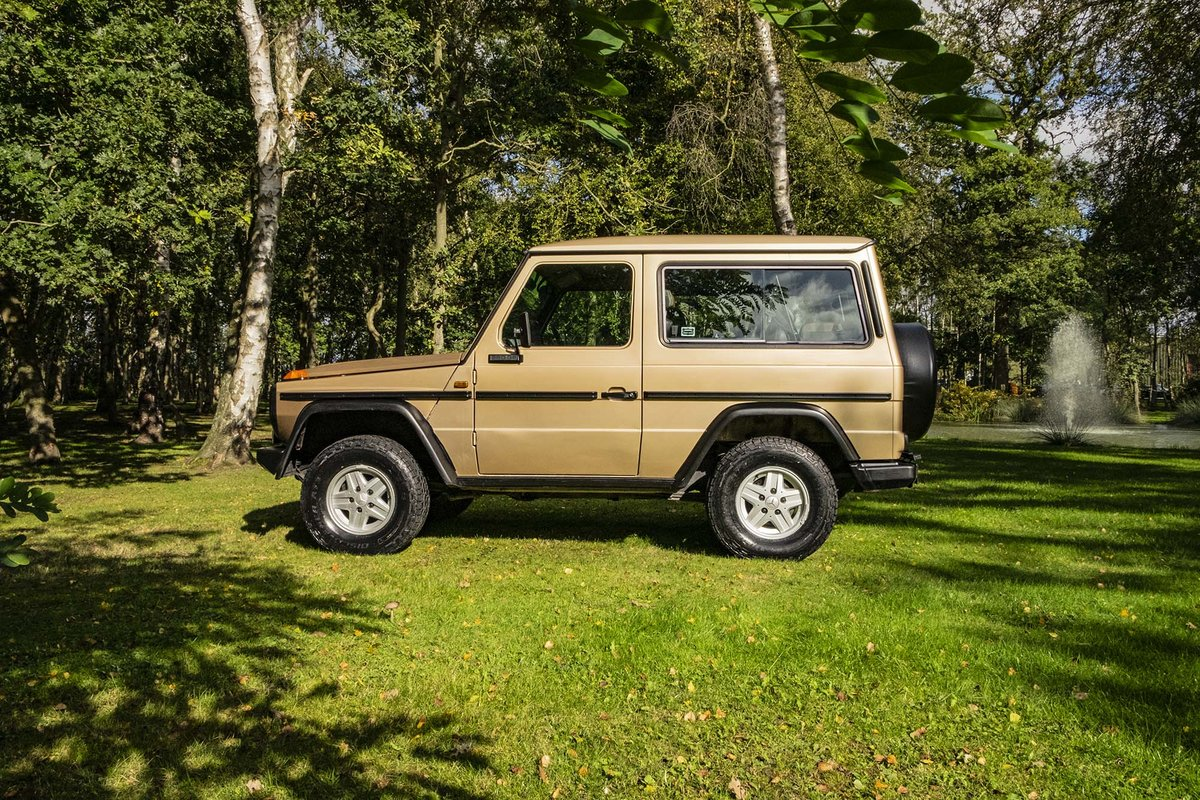 1987 Mercedes G Wagon 280GE W460 SWB  SOLD (picture 1 of 6)