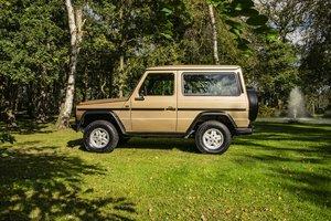 1987 Mercedes G Wagon 280GE W460 SWB  SOLD