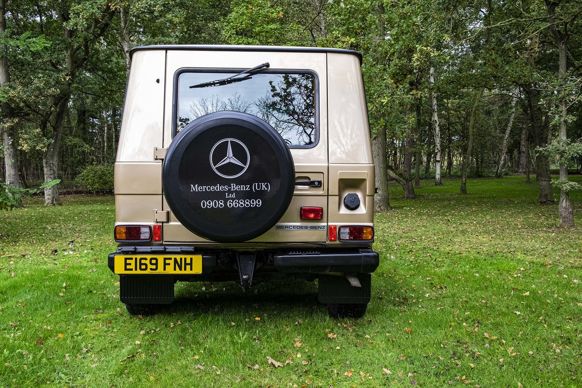 1987 Mercedes G Wagon 280GE W460 SWB  SOLD (picture 6 of 6)