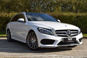 2016 Mercedes C300h AMG Premium Plus Estate (65)