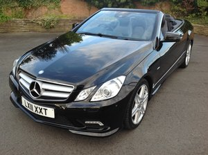 2011 Mercedes Benz E350 Sport Convertible For Sale